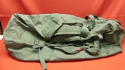 MILITARY SIDE LOAD ZIPPER DUFFEL BAG OD GREEN SEA BAG DEPLOYMENT PACK DUFFLE  a1 93a4df32527