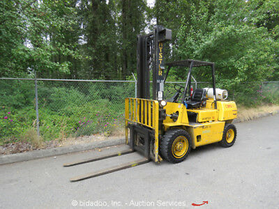 Hyster H80XL Industrial Warehouse Forklift Lift Truck 8K Two-Stage Mast bidadoo