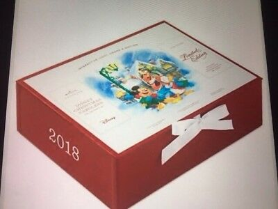 2018 HALLMARK LIMITED- EDITION DISNEY Christmas Carolers Set  Super RARE NR