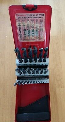 """Snap-On 25 pc Metric Drill Bit Set DBM125  """"Snap-On...there is a difference"""""""