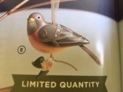2018 Hallmark LIMITED EDITION Lady Robin Beauty of Birds NIB hard to get!!!