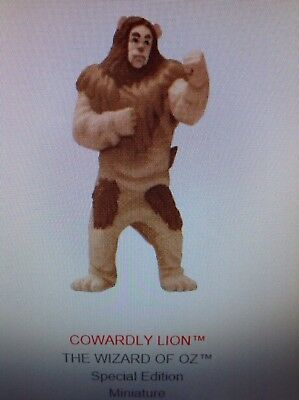 2018 Hallmark LIMITED EDITION Cowardly Lion MINIATURE Oz NIB