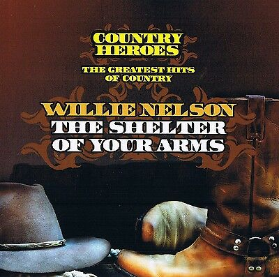 """Willie Nelson """" the Greatest Hits of Country """" Country Heroes CD New & Orig. Box"""