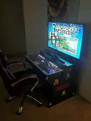 Mame Arcade Machine Sit Down Pedestal Cabinet A Must See Ultimate