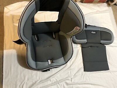 Chicco NextFit iX Zip Carseat Fabric Seat Cover Replacement Pads Next Fit