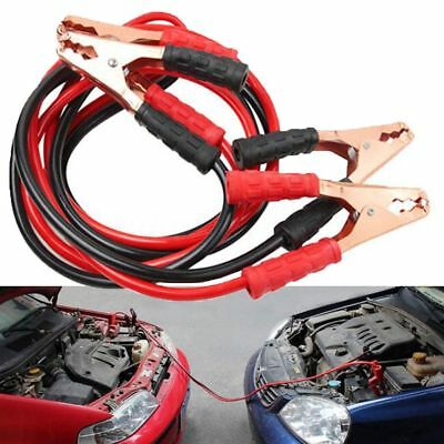 2M Heavy Duty 500 Amp Battery Jump Cable Emergency Car Battery Jumper Booster