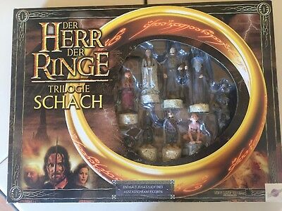 Herr der Ringe Trilogie Schach - Lord of the Rings Trilogy Chess - Schachspiel