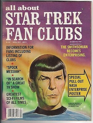 Star Trek Fan Clubs All About April1977 2nd Production