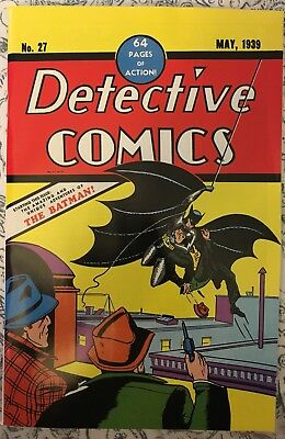 Detective Comics #27 (May 1939, DC)