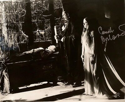 """Carroll Borland Signed Photograph as Luna """"Mark of the Vampire"""" MGM Iconic Role"""