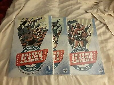 Justice League of America Silver Age Vol 1 2 3 Batman Superman Wonder Woman! JLA