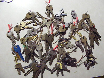 Lot of Misc Keys Antique Vintage Old Collection Mixed  Padlock
