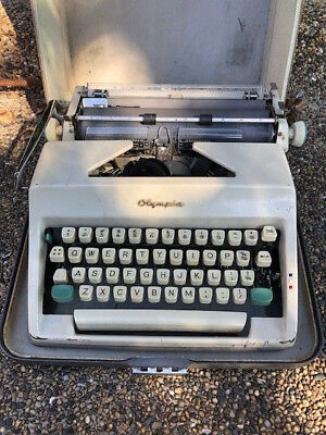 Vintage Olympia  Type Writer In Perfect Working Condition