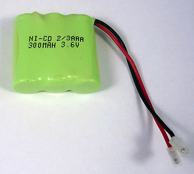 3.6V 300mAh Binatone 84H 85H BC102171 Cordless Phone Rechargeable Battery Pack