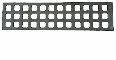 3 X SHORT FRET ARCHWAY CHARGRILL IRON CAST REPLACEMENT CHARCOAL GRILL BASE 38 cm