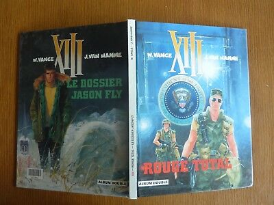 Xiii *** Bd Double *** Rouge Total / Le Dossier Jason Fly
