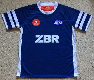 #10 Newtown Jets Rugby League Jersey - Mens L - Zibara - VGC