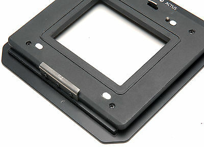 Hasselblad H Phase one H mount Digital Back to Cambo Actus Adapter Top