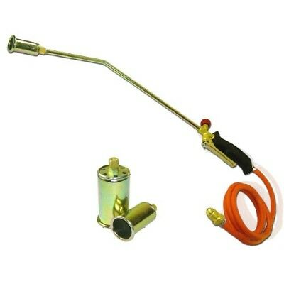 "24"" Inch Weed Killer Propane Torch Melt Ice Hose and 3 Nozzles"