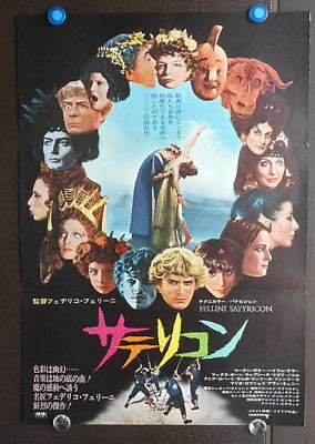 -10]  Federico Fellini ' Satyricon  1969 :JP movie BIG B2 Poster Original