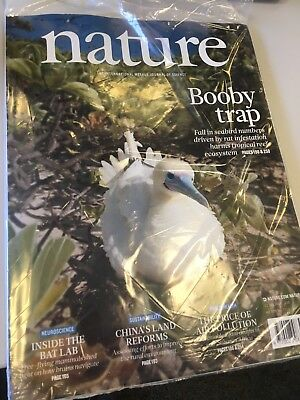 Nature magazine issue #7713 published 12Jul18 unopened
