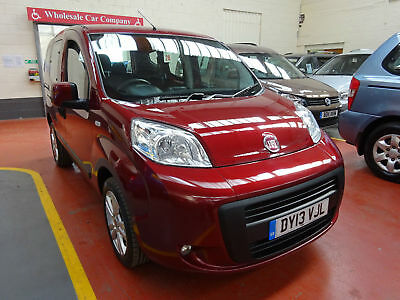 13 Fiat Qubo  Ride Up Front    Wheelchair Adapted Vehicle