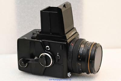BRONICA SQ-A with 80mm F2.8 WLF and 120 back GOOD CONDITION SQA