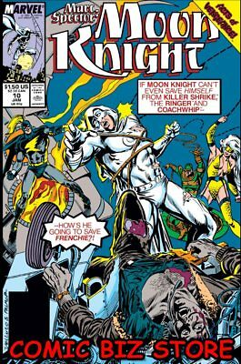 Marc Spector: Moon Knight #10 (1990) 1St Printing Bagged & Boarded Marvel