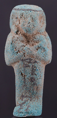 Egyptian Faience Ushabti for Pa-di-iset-hor - ca. 9,1cm.