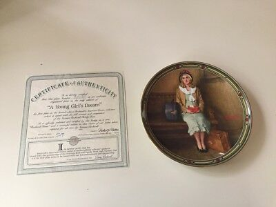 Never Used Norman Rockwell - with Certificate of Authenticity