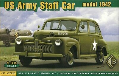 ACE 72298 - US Army Staff Car model 1942 - 1:72