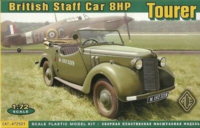 ACE 72501 - British Staff Car 8HP Tourer - 1:72