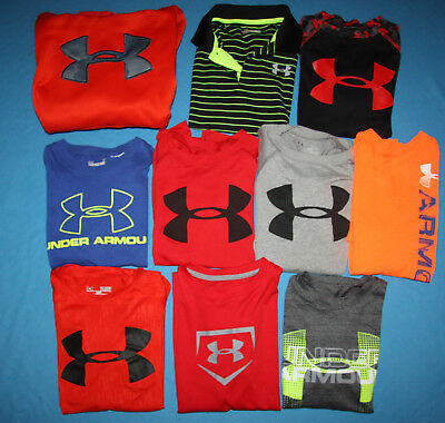 Boy's Lot Under Armour Shirts Under Armour Hoodie Size S/XS/6/7