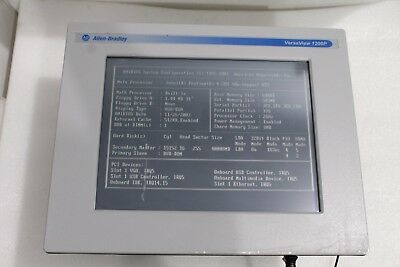 Allen Bradley VersaView 1200P 6181P-12TPXPH Integrated Display Computer Rev. B