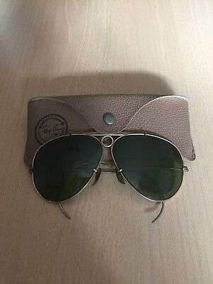 Ray Ban SHOOTER 62mm BAUSCH & LOMB USA 🇺🇸  B&L Con Custodia/Case