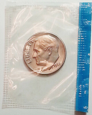 1968 P Roosevelt Dime  *MINT CELLO*   **FREE SHIPPING**