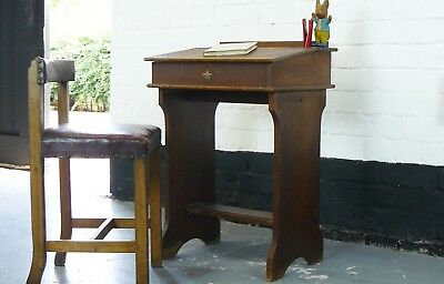 Childrens British  Vintage Desk by Glevum Games