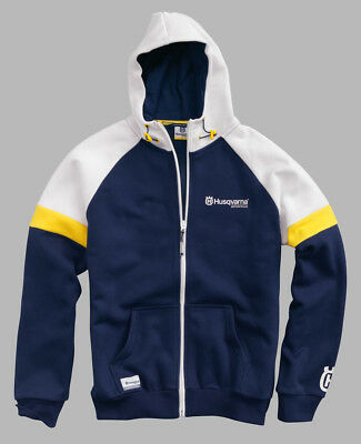 2019 Husqvarna Motorcycle Offroad Dirtbike Team Zip Hoodie Shirt - Pick Size