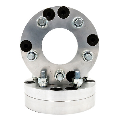"""4x130 to 5x120 US Made Two Piece Wheel Adapters 1.75"""" Thick 12x1.5 studs x 2"""