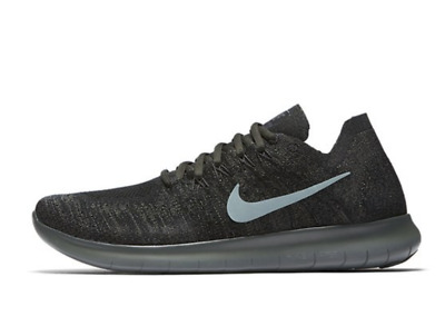 5c5404e0d5 Nike Free RN Flyknit 2017 Running Shoes Olive Green Black 880843-012 Mens  US 12