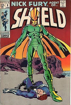Nick Fury, Agent of SHIELD #8 (Jan 1969, Marvel) Fine/VF