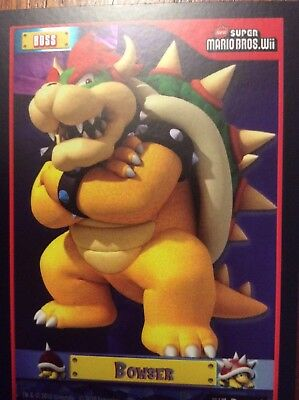 2010 Super Mario Brothers Bowser Trading Card F-15 Puzzle 1