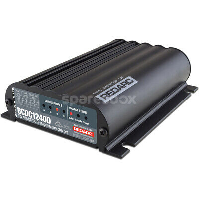REDARC Battery Charger 12V 40A 3 Stage Auto BCDC1240D