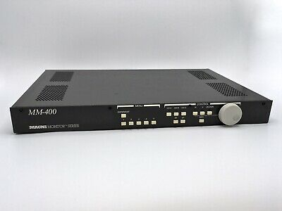 Magni MM-400 – Waveform/Vector Monitor Combo Rasterizer for NTSC or PAL Format