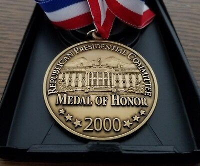 Republican Presidential Committee MEDAL OF HONOR 2000 Outstanding Service RARE