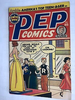 Golden Age Pep Comics no.85 ARCHIE 1951 GC