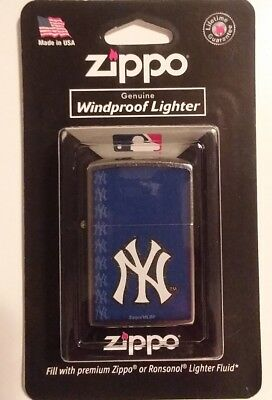 New York Yankees Zippo Windproof Lighter Brand New Factory Sealed Free Shipping!