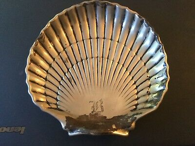 Groham Sterling Silver Clam Ashtray Low Reserve