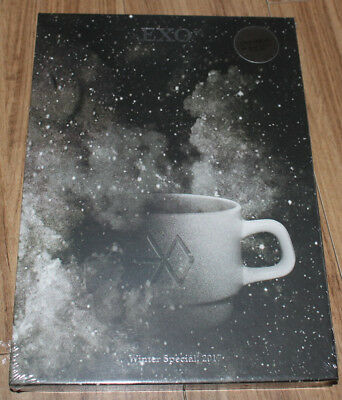 EXO 2017 WINTER SPECIAL ALBUM Universe CD + POSTCARD PHOTOCARD + 2 FOLDED POSTER