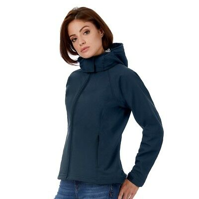 Giacca Soft shell B&C BCJW937 Donna HOODED W 94%P6%E
